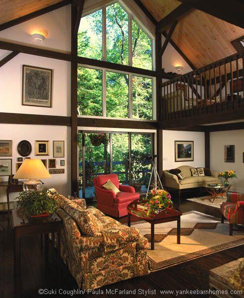 Great Room: Yankee Barn Homes Great Room