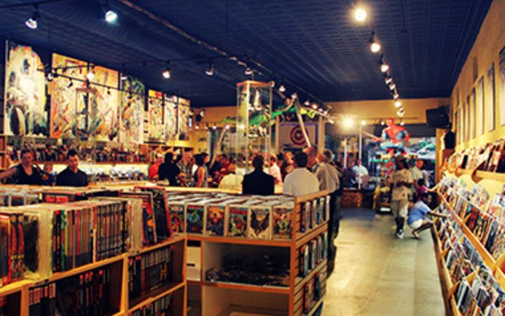 Quimby's Bookstore, Chicago -  America's Best Comic Book Shops           | Travel   Leisure