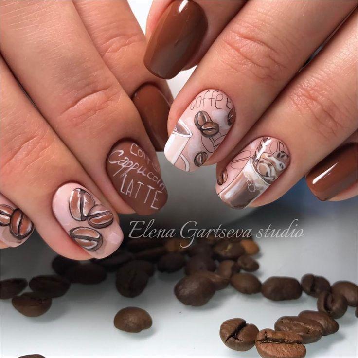 Как минимум раз в полгода рисую кофейный дизайн, это уже традиция  ☕️ Вы спрашивали название цвета , это Gelcolor by OPI, шоколадный F53 и светлый - это тирамису V28.   @elena_gartseva_studio   #кофе #капучино #coffee #capuccino  #росписьногтей #рисунок #мкгарцева #ботаническийсад #Гарцева_Елена #маникюр #ногтимосква #nail #nails #nailart #manicureopi #me #love #цветы #наращиваниеногтеймосква #наращиваниеногтей #моделированиеногтей #opi #elenagartsevastudio #лето  #росписьногтей #рисунк...