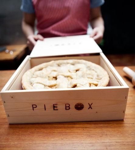 PIEBOX: Safely transport your pie anywhere you go. They have CAKEBOXES too!