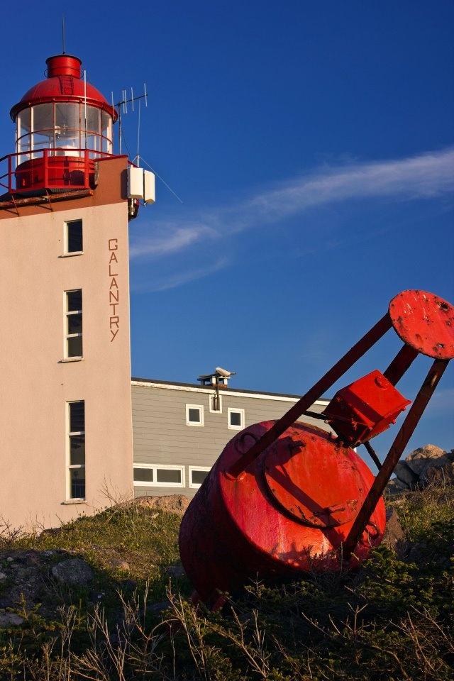 phare de Galantry . St Pierre et Miquelon . Photo de Dusty SERIGNAT