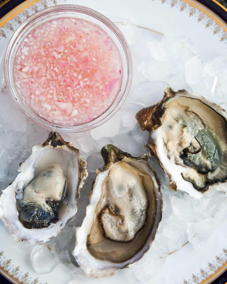 Mignonette Sauce for Oysters A perfect tangy sauce to accompany oysters! Use like lemon juice with just a little dab on each oyster.
