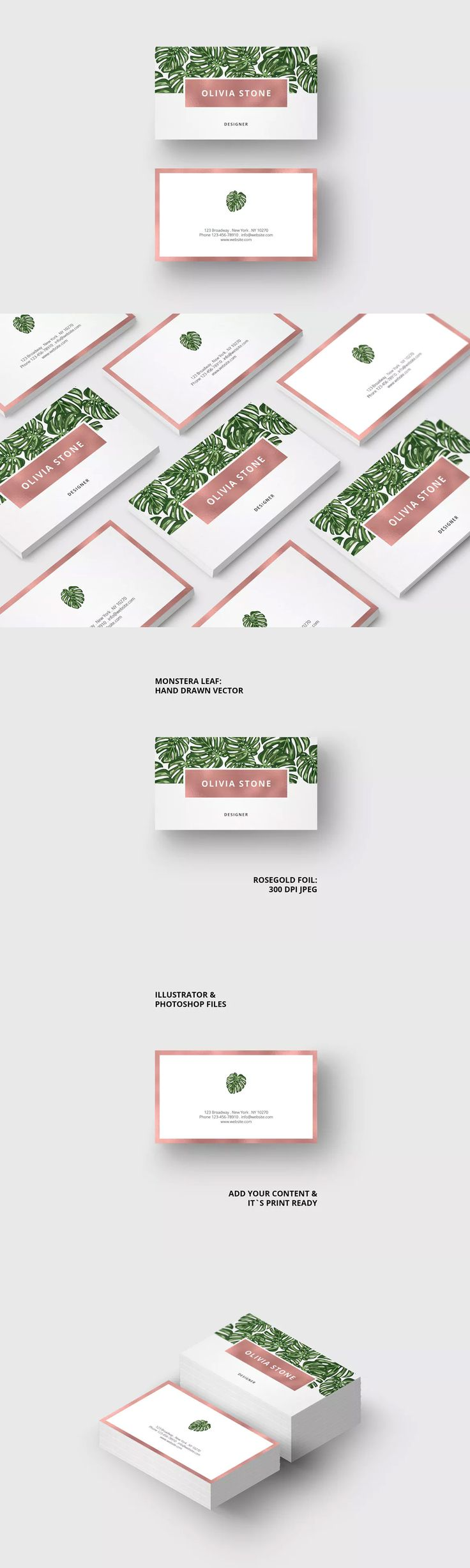 137 best Business Card Template images on Pinterest | Business card ...