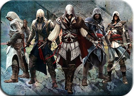 Assassins Creed mouse pad Advanced rubber pad to mouse Indie Pop mousepad gaming padmouse gamer to laptop keyboard mouse mats