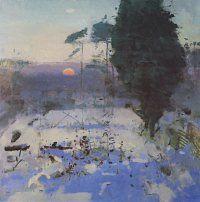 Winter Garden, 1992 Fred Cuming R.A.