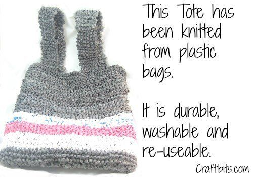 Knitting Pattern Grocery Bag : 17 best images about Knitting - Bags on Pinterest Free ...