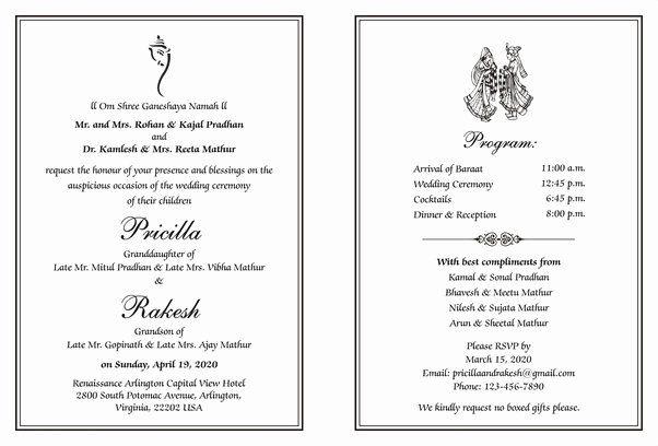Hindu Wedding Invitation Wording Unique What Are The Best Indian Weddi In 2020 Hindu Wedding Invitation Wording Wedding Card Wordings Indian Wedding Invitation Wording