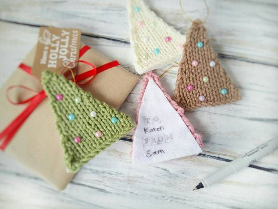 Christmas Gift Tags  Gift Toppers  Rustic by 3LittlePurls on Etsy