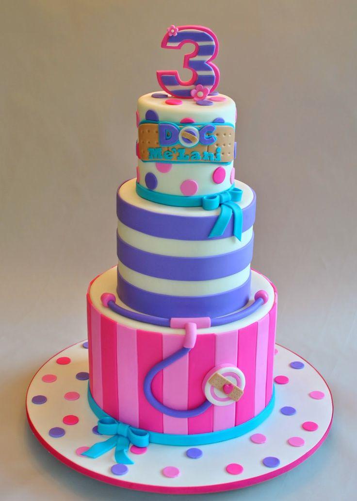 Doc McStuffins Cake, Hope's Sweet Cakes, hopessweetcakes.com
