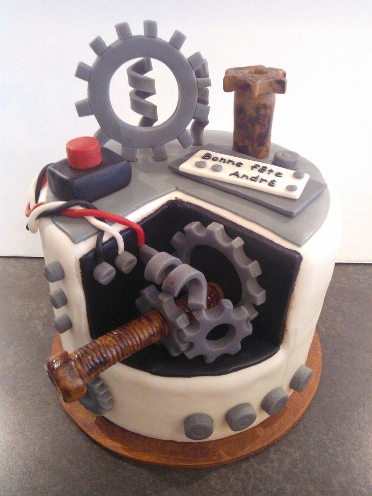 Engineer cake / gâteau ingénieur
