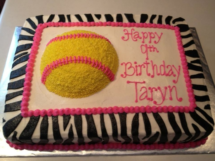 Softball Cake Decorating Ideas 13626 Cake Decorating Ideas