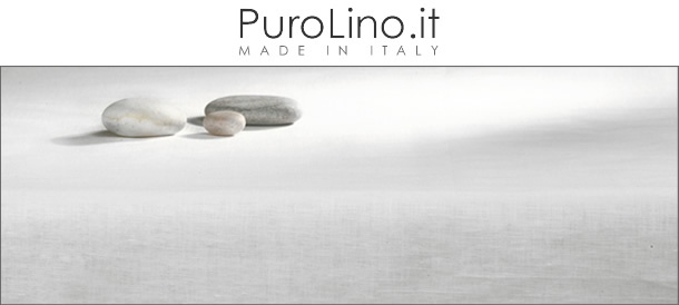 Purolino.it - Made in Italy luxury linen - Lino italiano di alta qualità