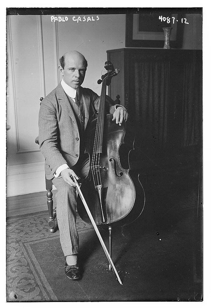 Pablo Casals (from The Library of Congress)