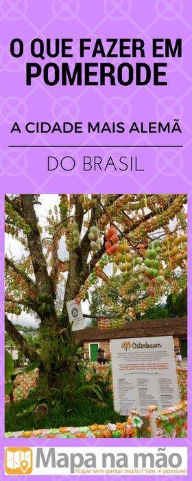 A cidade mais alemã do Brasil - o que fazer em Pomerode, no Vale Europeu.