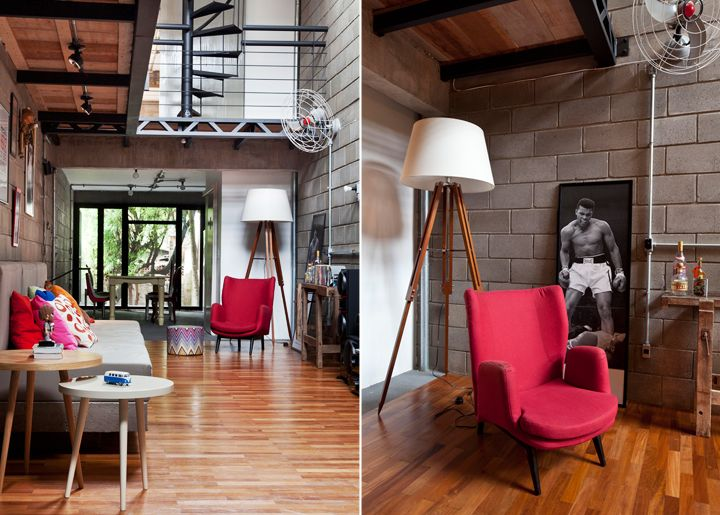 decoração de lofts industriais - Google Search