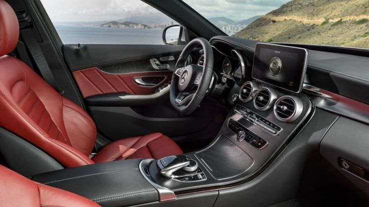 Mercedes C300 And C400 Interior Photos 2c Luxury Sedan Jpg With