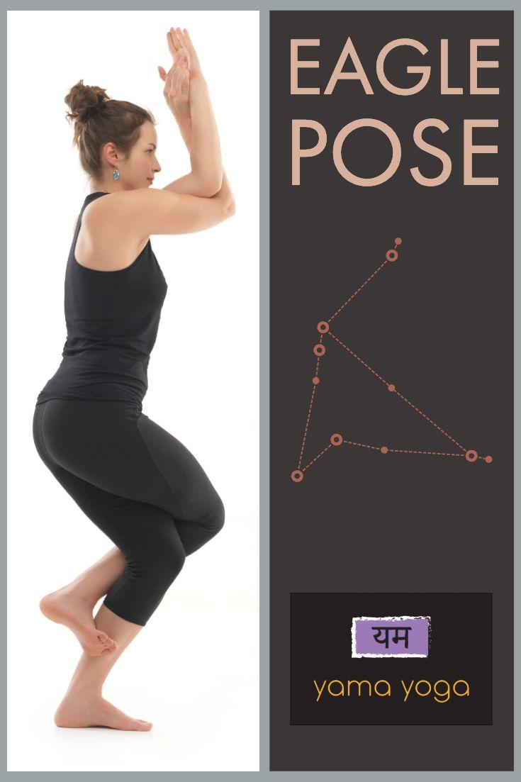Eagle Pose Eagle Pose Poses Strengthen Hips