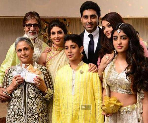 The Bachchans dynasty is in the making. Legend Amitabh married Jaya Bhaduri before achieving the iconic status. With Abhishek's wed-lock with Aishwarya Rai the ancestry can be nothing less than astounding.The Bachchan family is undoubtedly one of the most important pillars of Bollywood.