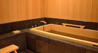 和室 檜風呂イメージ