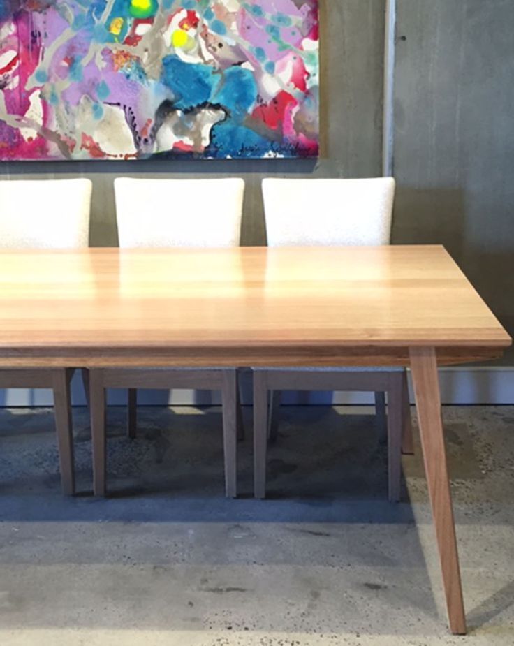Lily dining table. Designed and made in Australia jimmy by Jimmy Possum
