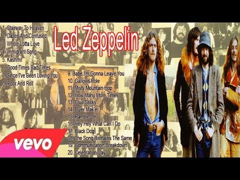 Led Zeppelin's Greatest hits full album || Led Zeppelin Best Colection