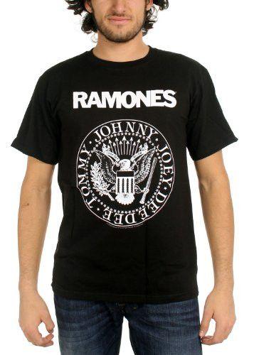 Ramones Presidential Seal Men's Tshirt, Black