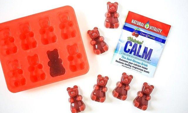 Healthy Vegetarian Calming Gummy Bears - Natural Vitality Living