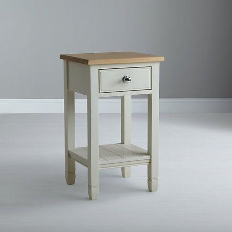 Buy Neptune Chichester Bedside Table, Old Chalk Online at johnlewis.com