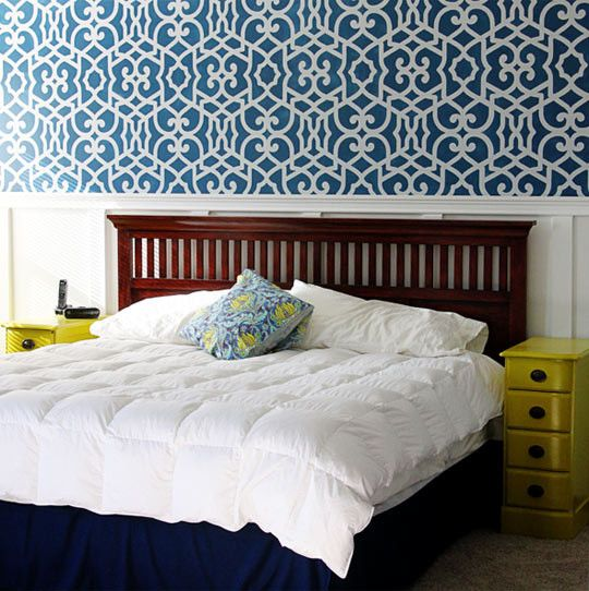 Teal Bedroom Wall Art Bedroom Decor Neutral Child Bedroom Paint Ideas Bedroom Decor Above Bed: 17 Best Images About Stencil Me On Pinterest
