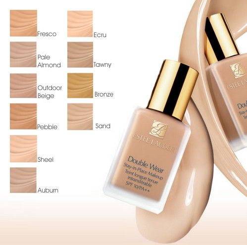 Estee lauder double wear in the shade Tawny use this everyday