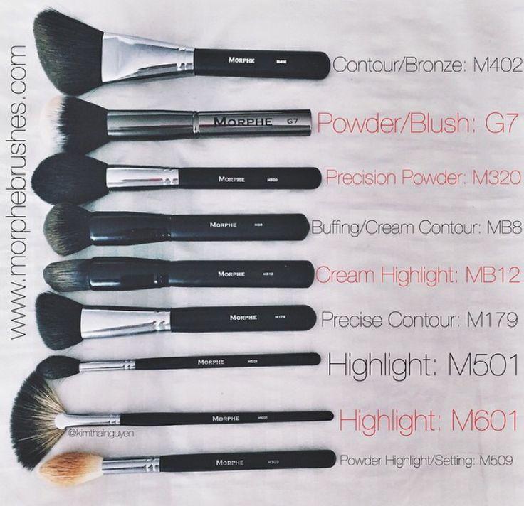 Morphe brushes