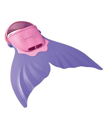 FINIS Purple Mermaid Tail. Ages 12 and younger with adult supervision $24.99 [Photo] http://mcdn.zulilyinc.com/images/cache/product//85242/zu1475747_alt_1_tm1399054206.jpg