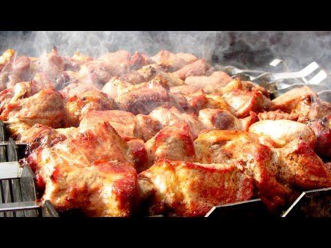 (18) Рецепт грузинского шашлыка Мцвади от Алкофана - YouTube