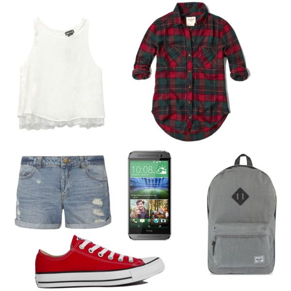 Explore the city by bambyee on Polyvore featuring polyvore fashion style Abercrombie & Fitch Wet Seal Dorothy Perkins Converse Herschel Supply Co. HTC