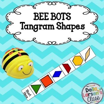 BEE BOT Tangram Shapes