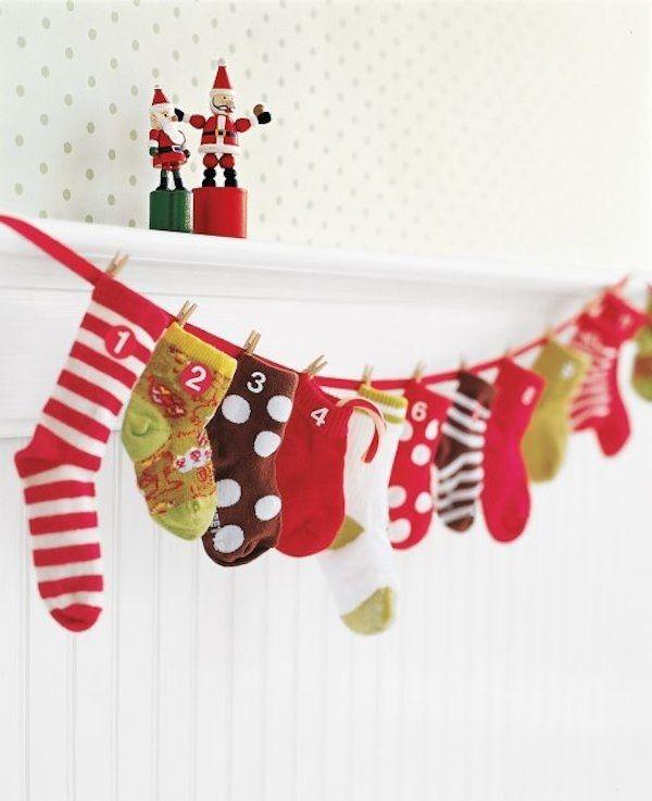 Baby Sock Calendar