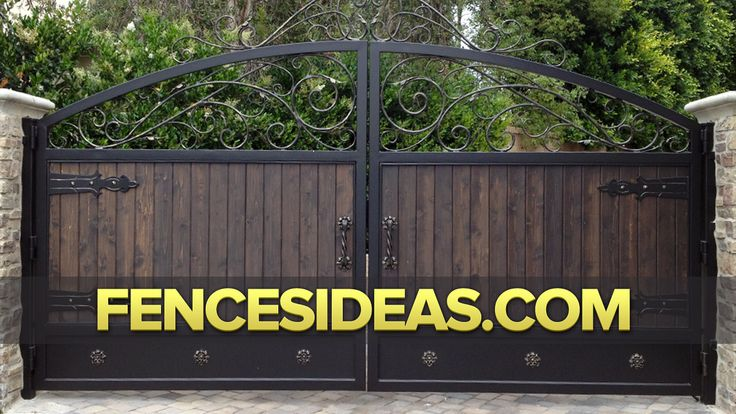 Wrought Iron Fences Iron Gate Design Ideas Beds