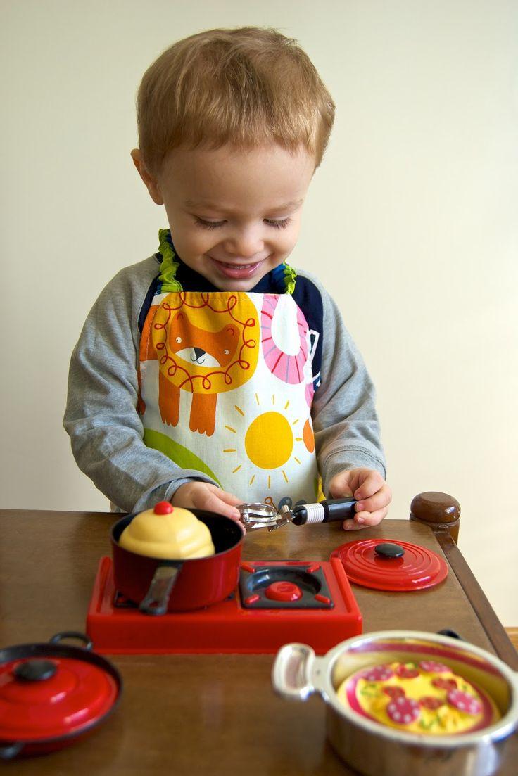 Nella mia soffitta...: Tutorial: Cucire un grembiule da cuoco per i bimbi del vostro cuore!