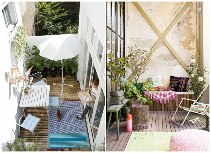 17 best images about terrazas y balcones on pinterest for Ideas para patios interiores