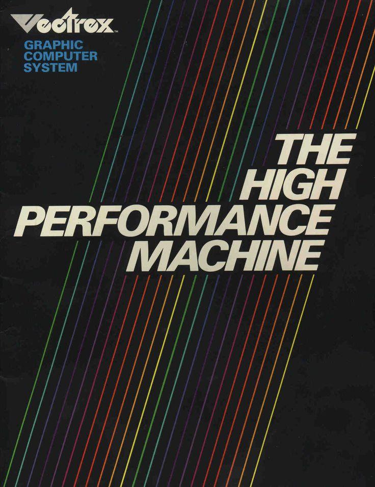 VECTREX #80s #ad #computers #design #retro