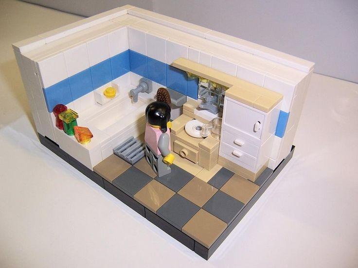 Bathroom : A LEGO® Creation By Legolas 73