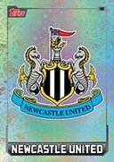 Newcastle Utd crest card.