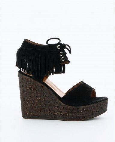 Chaussures - compensées Femme   Texto