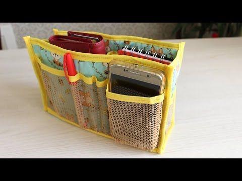 Organizador de bolsa - Troque de bolsa sem complicação - YouTube