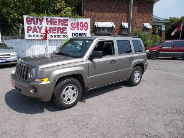 2008 JEEP PATRIOT (LA AUTO SALES 597 SIMCOE ST.S.OSHAWA) $4495