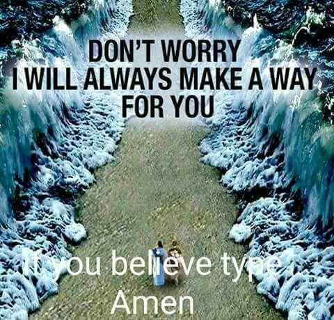 God will always make a way.