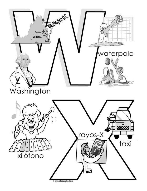 Best Alphabet Images On   Spanish Alphabet Learn