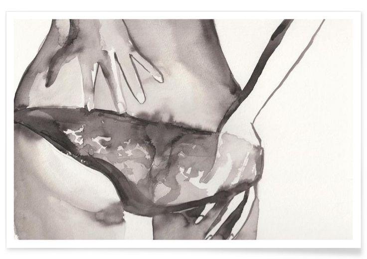 INGENUE. AND NEVERMIND als Premium Poster von Victoria Verbaan | JUNIQE