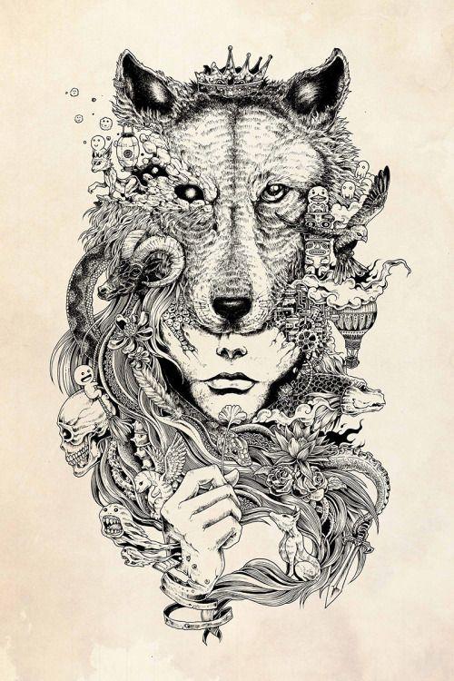 O ilustrador filipino Kerby Rosanes desenha ilustrações incríveis e detalhadas utilizando apenas ferramentas simples: caneta e papel.