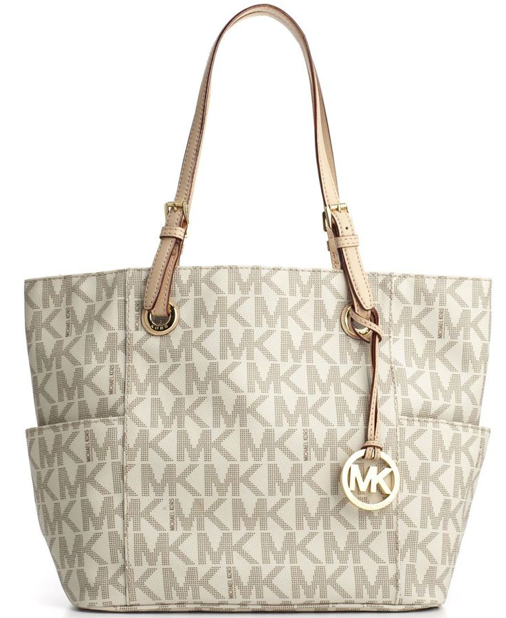 MICHAEL Michael Kors Handbag, Signature Tote - Shop All Michael Kors  Handbags \u0026 Accessories - Handbags \u0026 Accessories - Macy\u0027s